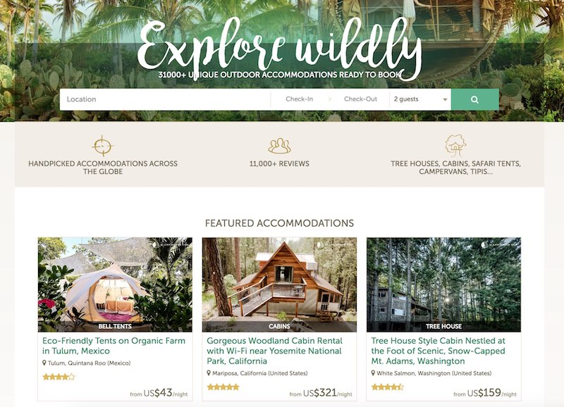 glamping hub hotel and airbnb alternative