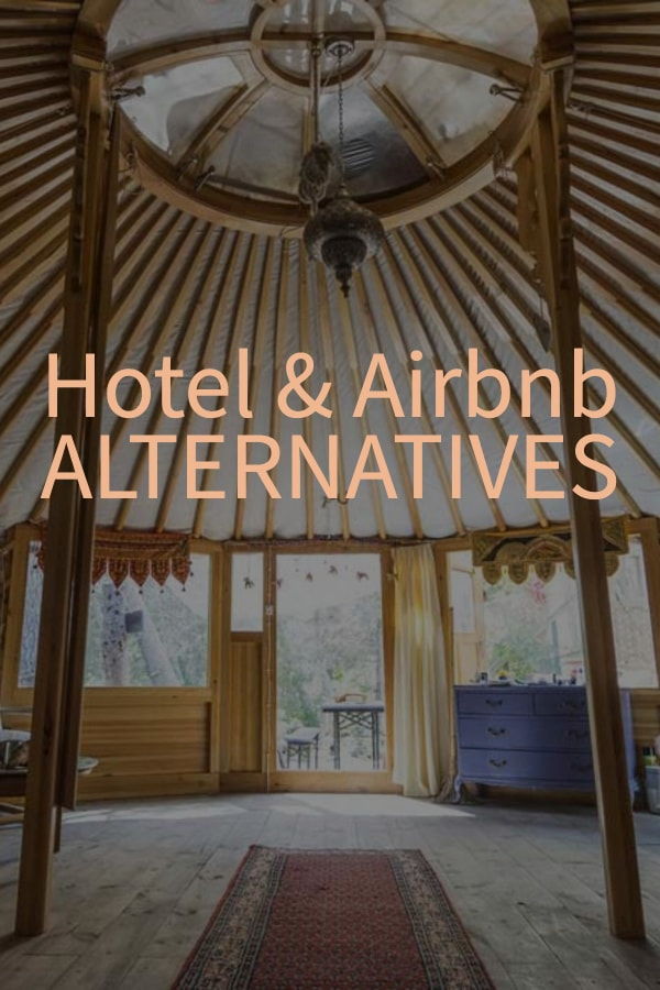 Hotel and Airbnb alternatives