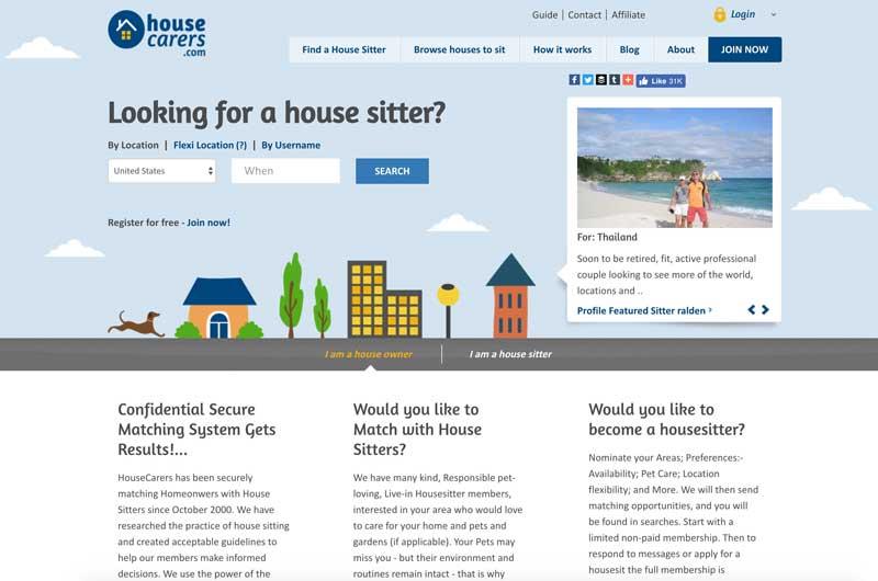 house carers hotel alternative