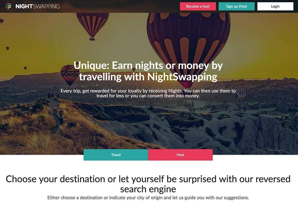 nightswapping alternative accommodation app