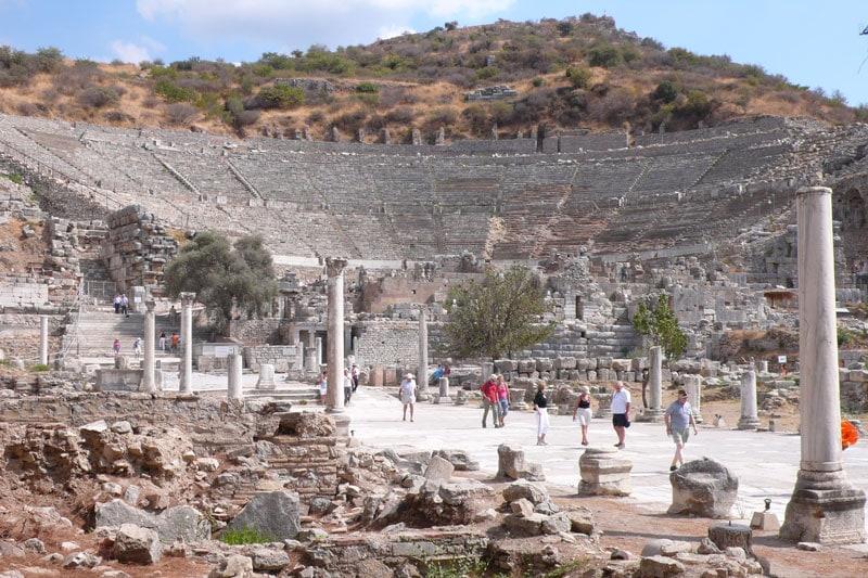 Ephesus amphitheatre daily tours