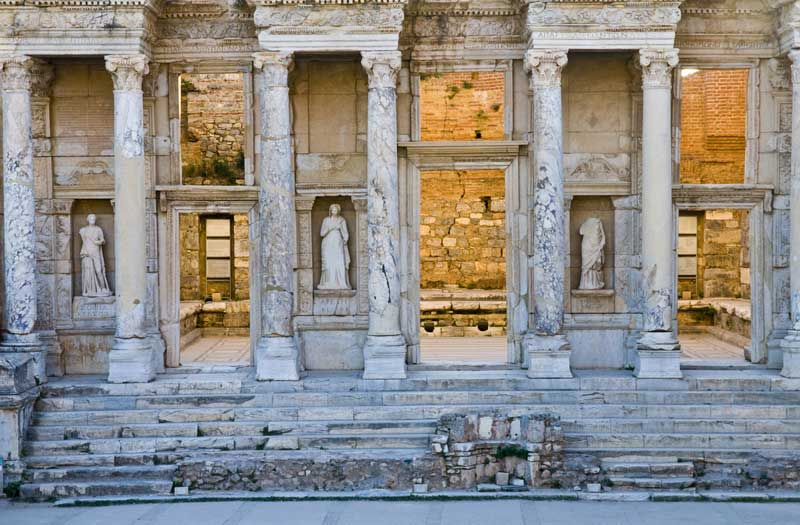 Entrance to the Celsus Library in Ephesus