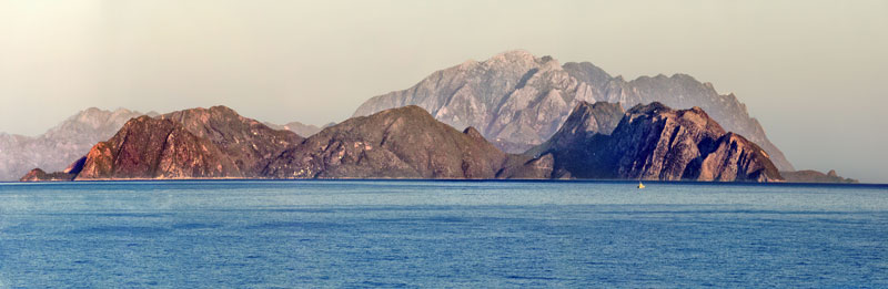 Island of Samos from Kusadasi