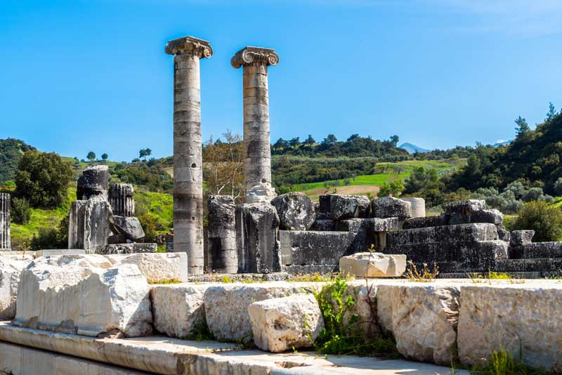 Ruins of the Temple of Artemis-one-of-the-original-seven wonders of the world