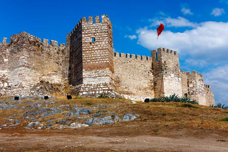 Selcuk Fortress Castle near Ephesus and Selcuk