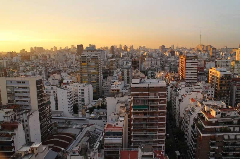 Buenos Aires Apartment blocks