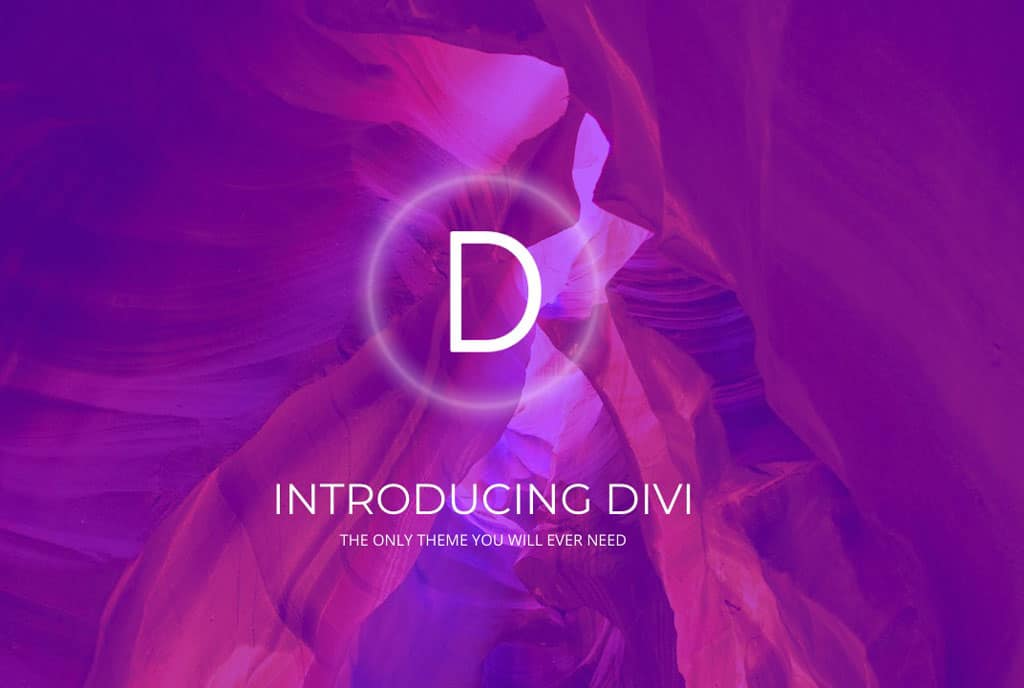 Divi theme from Elegant Themes