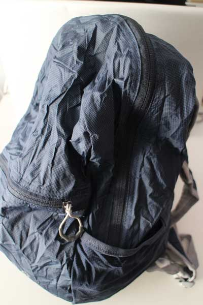 Jack Wolfskin foldable-stowaway backpack for travel