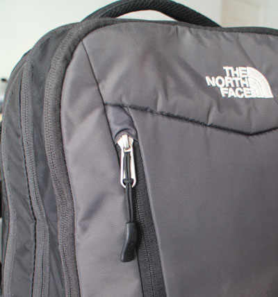 North Face Overhaul 40 backpack with Quality zip construction