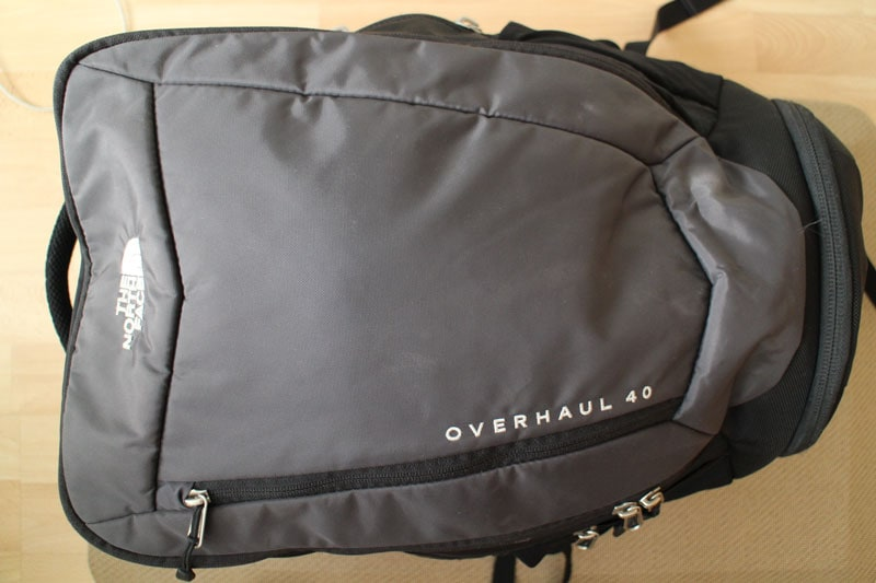 The North Face Overhaul 40 travel backpack