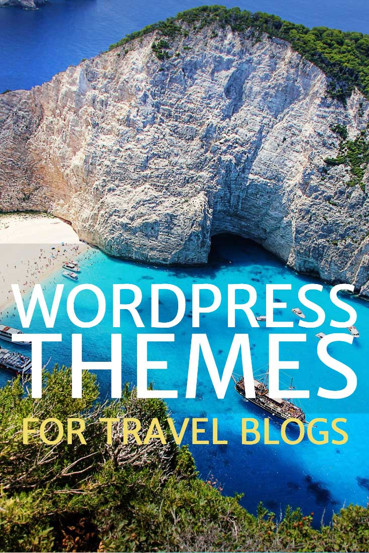 Wordpress themes for travel blogs