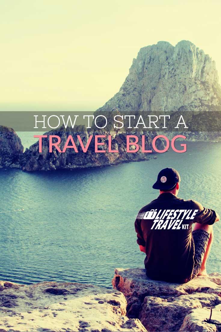 how to start a travel blog pinterest