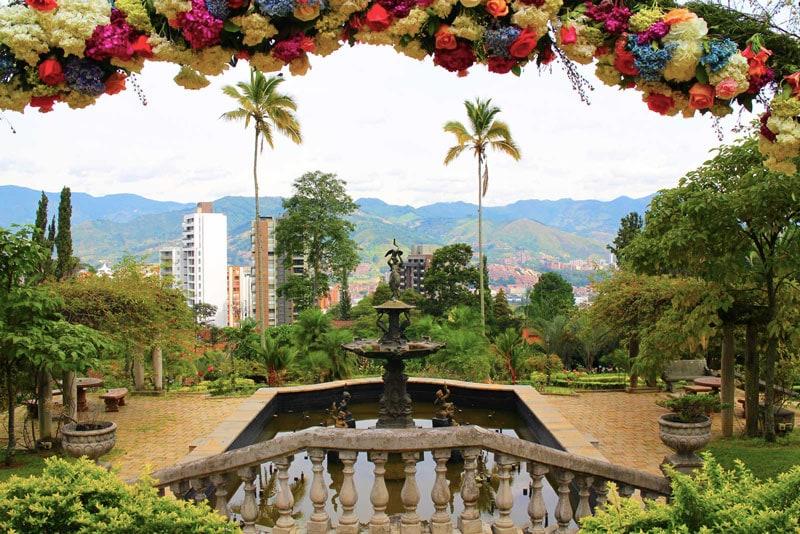El Castillo Medellin Colombia travel