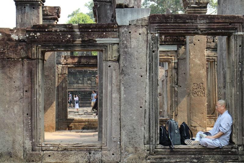 Monk in Siem Reap, Cambodia