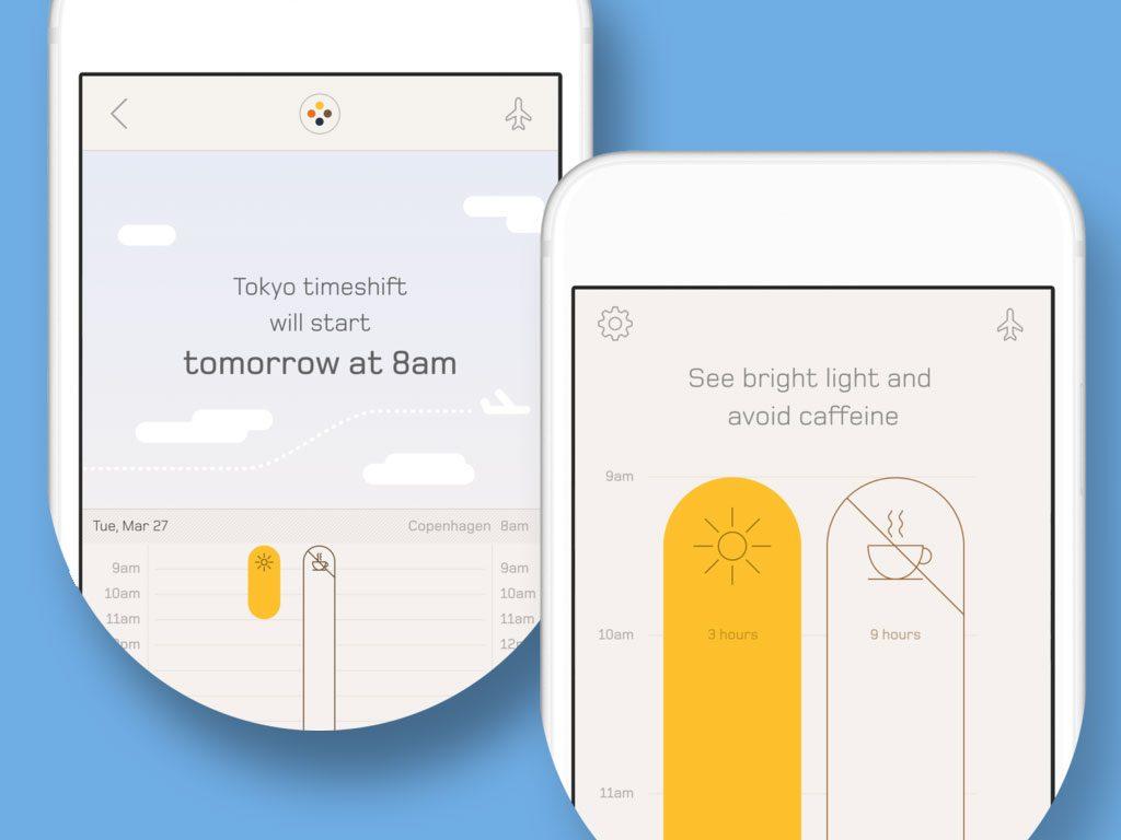 Jet Lag App for Digital Nomad Travel