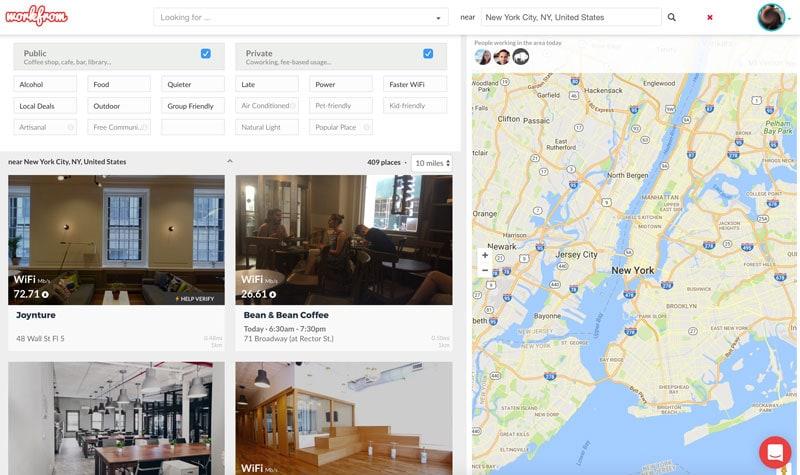 workfrom digital nomad tool