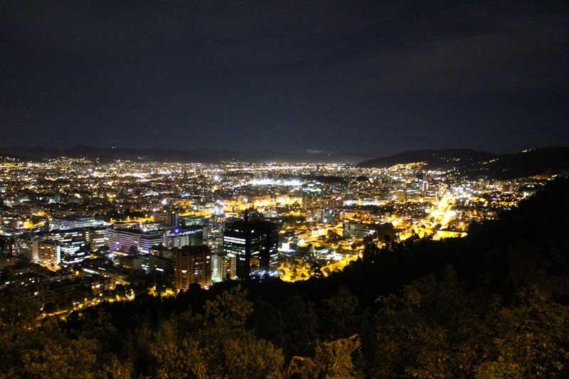 Bogotá by night