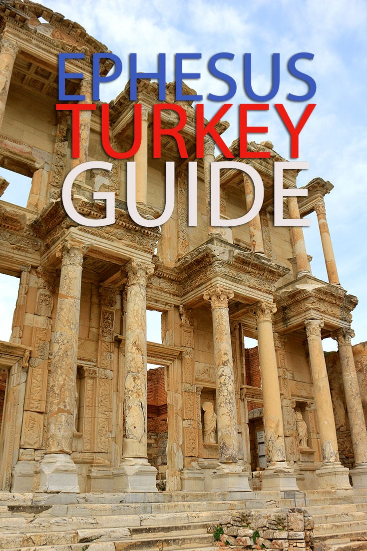 A guide to Ephesus in Turkey. An ancient Greek city and one of the biggest ruins in the middle east. Ephesus Turkey, travel Guide