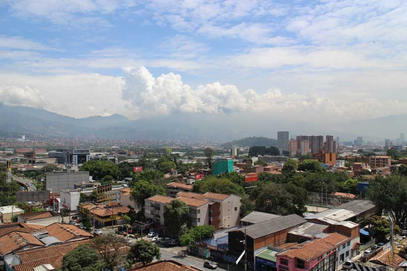 Medellin, capital of Antioquia, Colombia