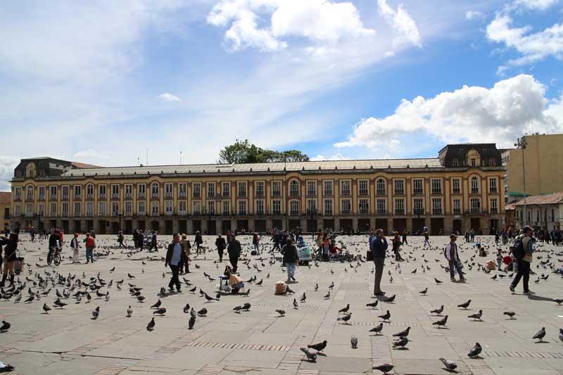 Plaza de Bolívar Bogotá