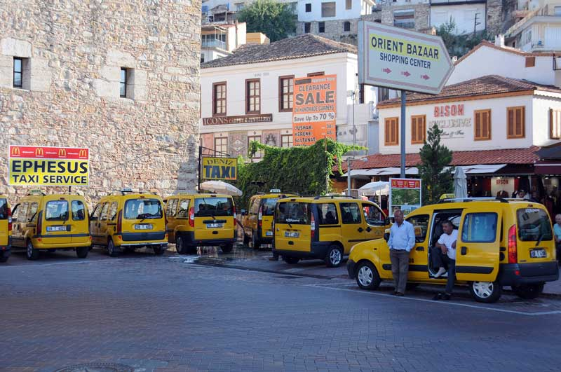 kusadasi airport taxi and tour taxi services