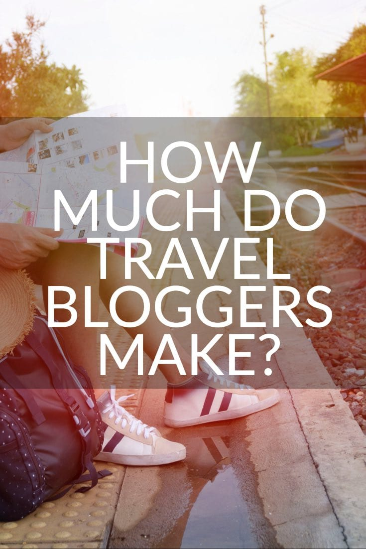 how much do travel bloggers make pinterest