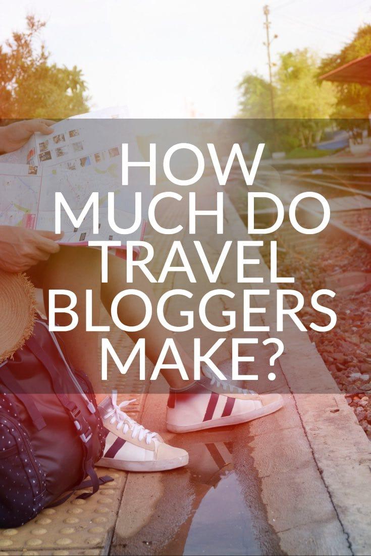 how much do travel bloggers make pinterest