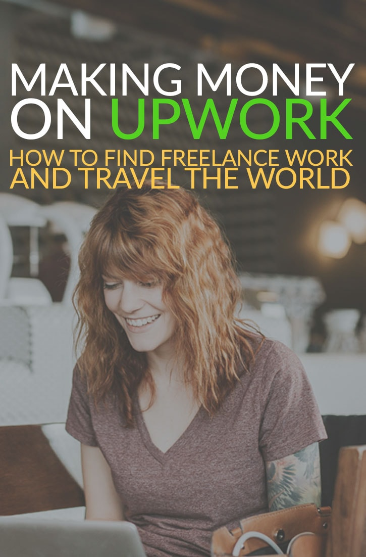 freelance writing on upwork for travel bloggers and digital nomads