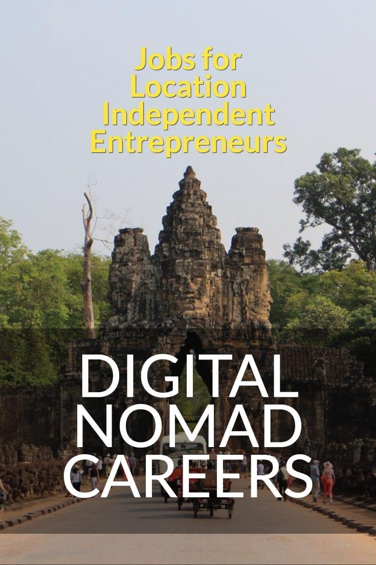 digital nomad careers - jobs for location independent entrepreneurs