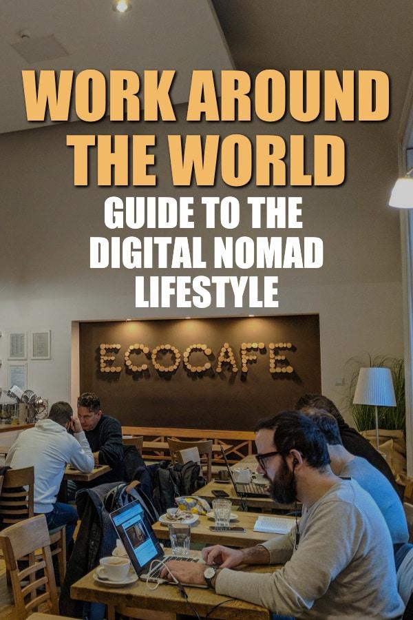 digital nomad lifestyle guide work around the world