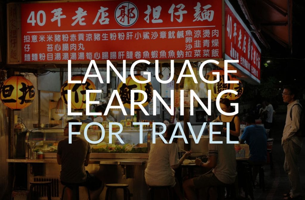 learning languages for travel