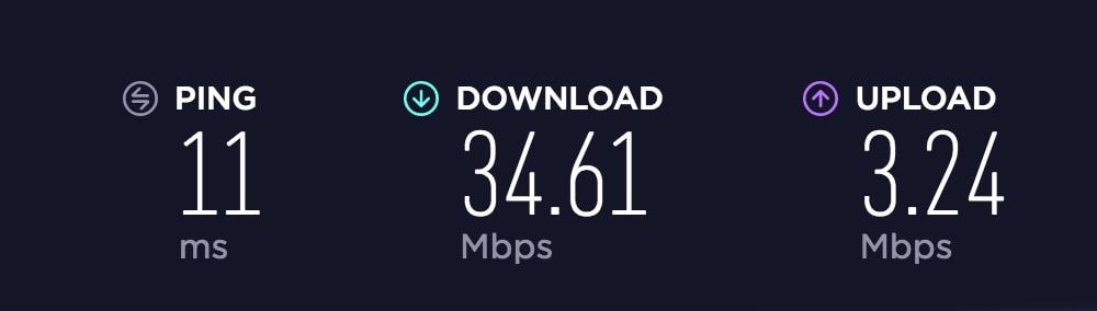 Artis coffee shop wifi speed