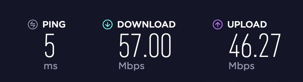 brainwake cafe internet speed
