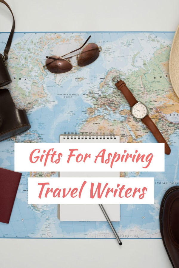 gifts for travel writers & travel bloggers
