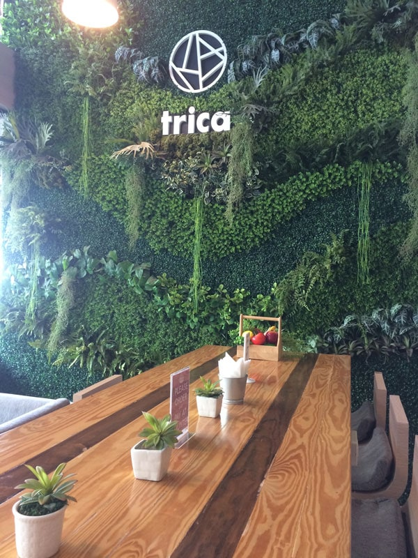 Trica hostel and cafe working space in Bangkok Thailand