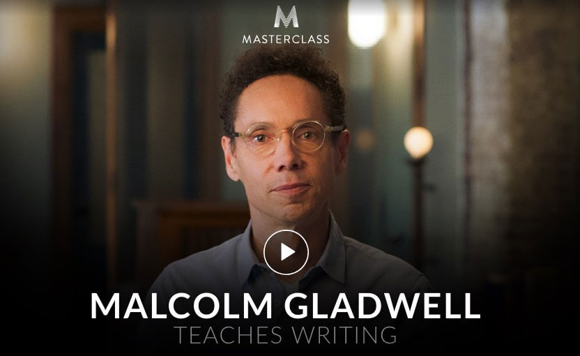 writing course gift - Malcolm Gladwell teaches writing.jpg