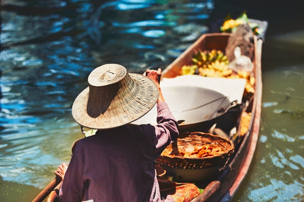 Bangkok Floating Market Photo Tour