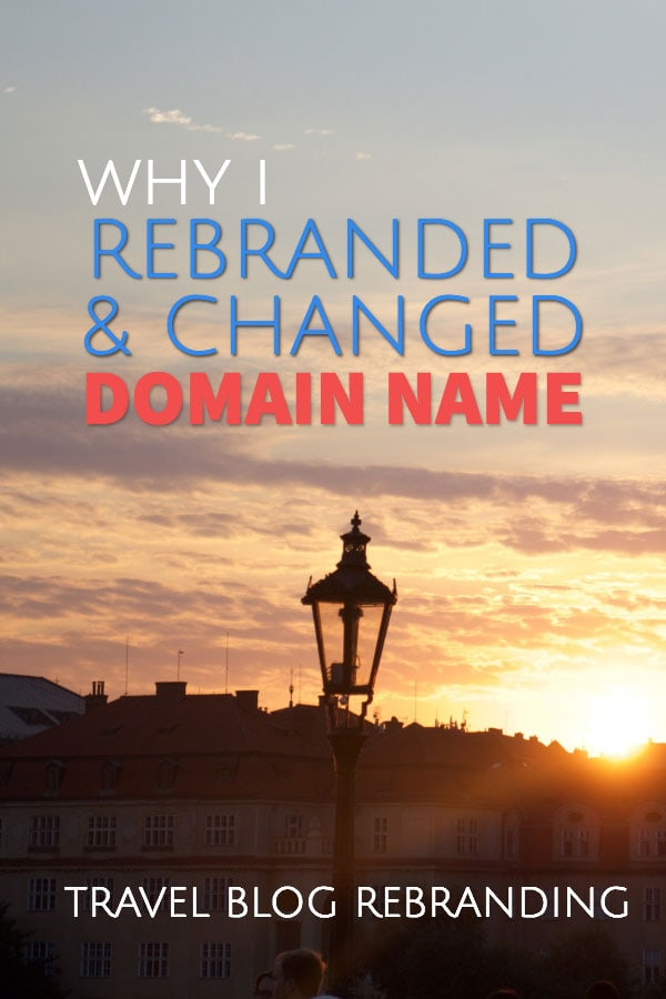 Rebranding a website - Changing blog domain name