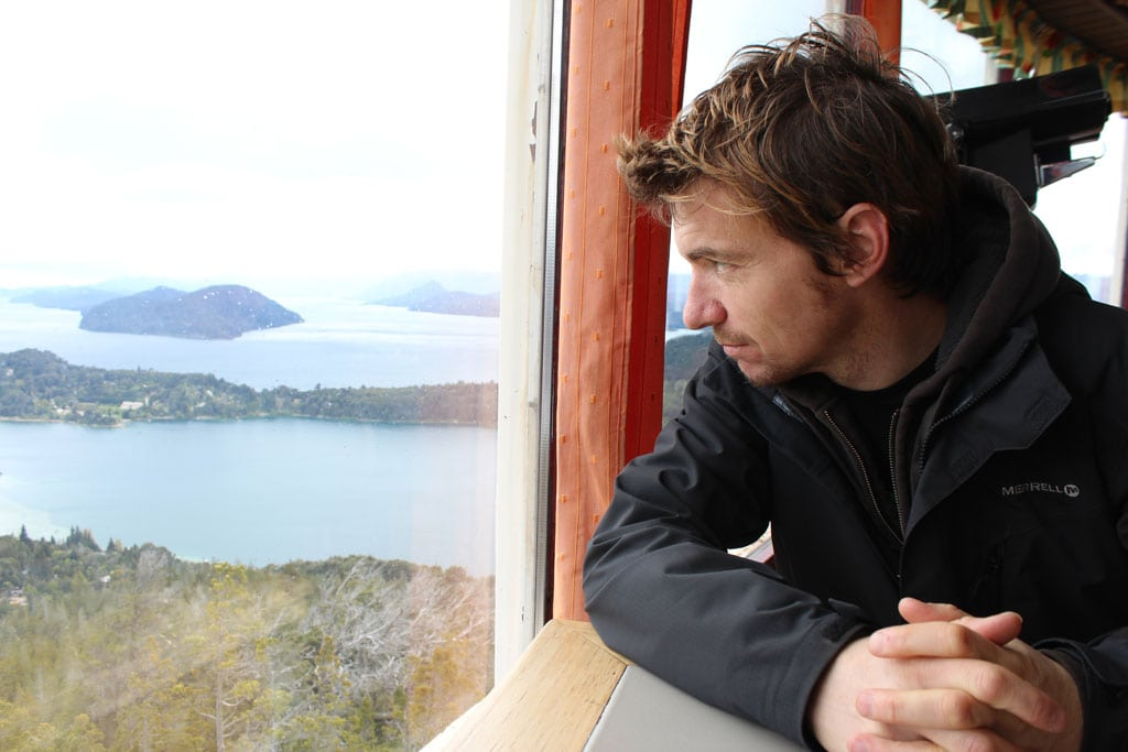 Keith Travel Blogger in Bariloche Argentina