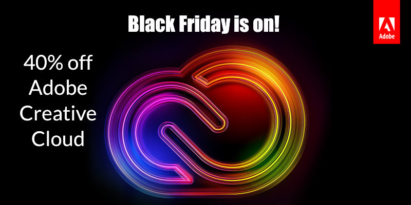 Adobe creative cloud black friday