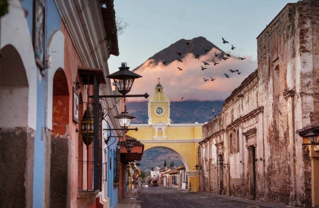 Antigua Guatemala - city of spanish learning schools