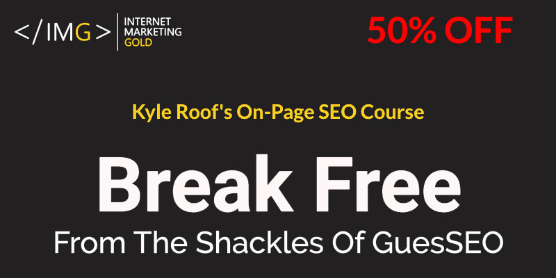 On page seo course kyle roof
