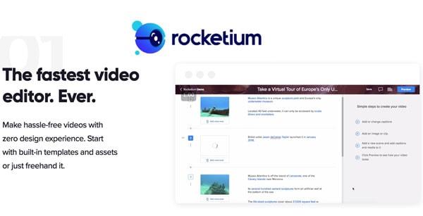 rocketium video maker