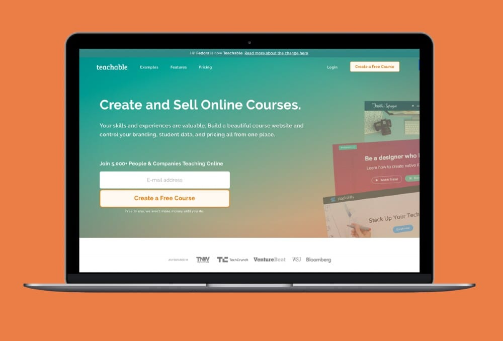 Teachable online course black friday