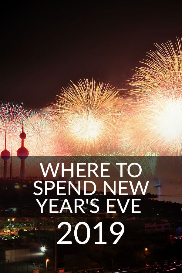 New year's Eve Destinations 2019