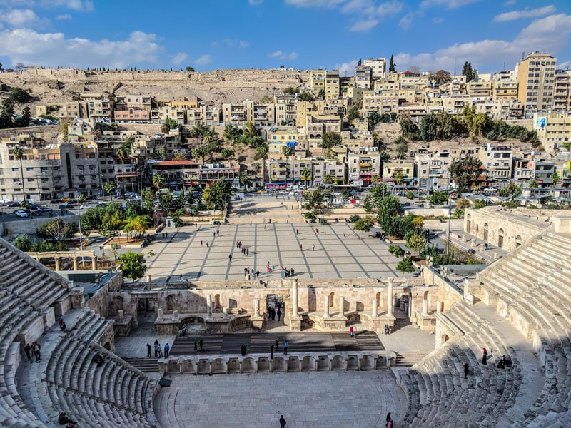 The amphitheatre of Amman
