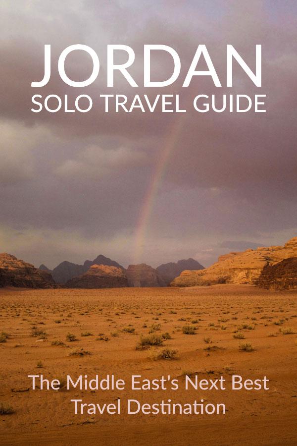 The Wadi Rum Desert of Jordan - Travel Guide to Jordan