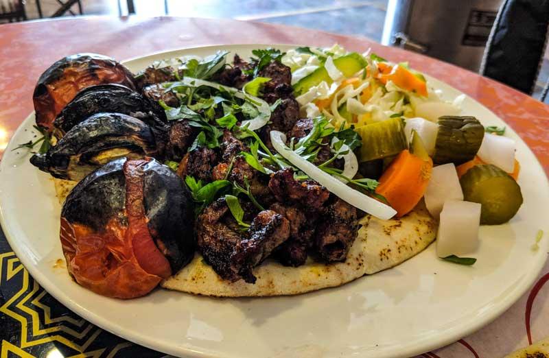 Jordanian Kebab