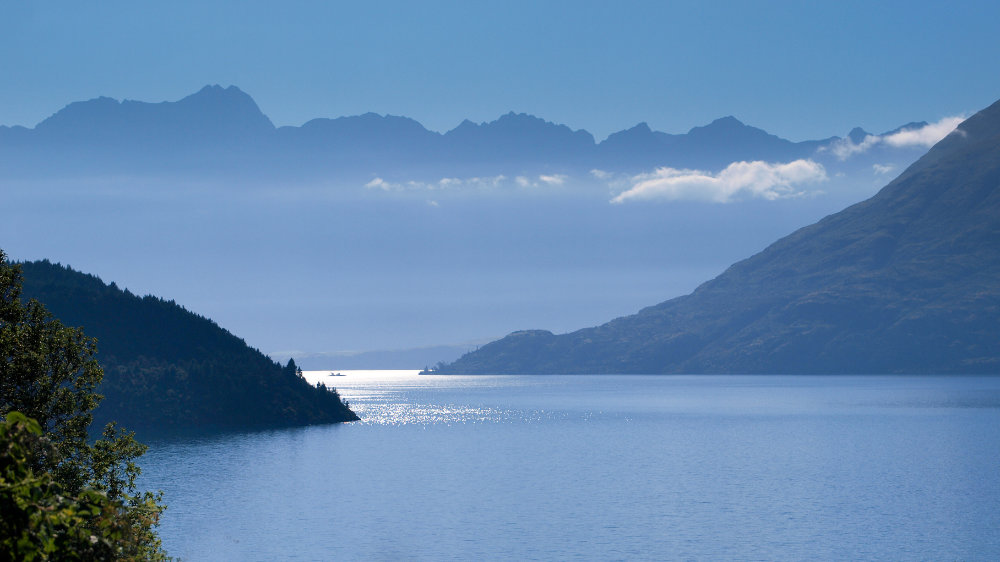 Lake Wakatipu and Remarkables Mountains