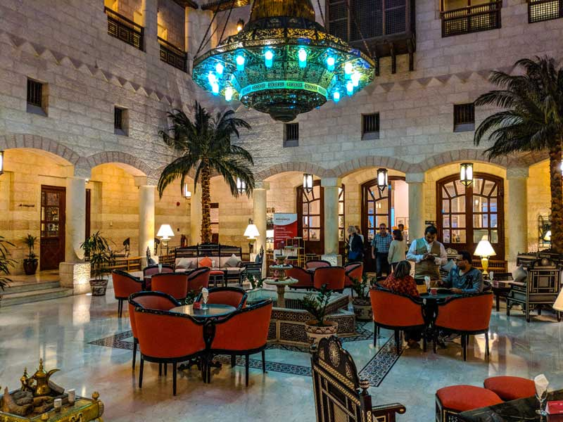 Movenpick Hotel Cafe in Wadi Musa Jordan